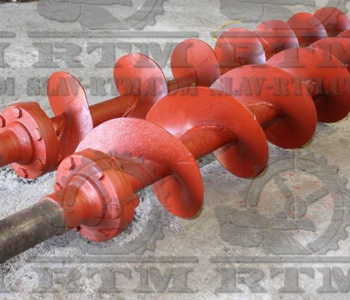Шнек, Обрушиватель, РТМ, РЕМ-ТЯЖМАШ, Машиностроение, машиностроительное, металообработка, метал